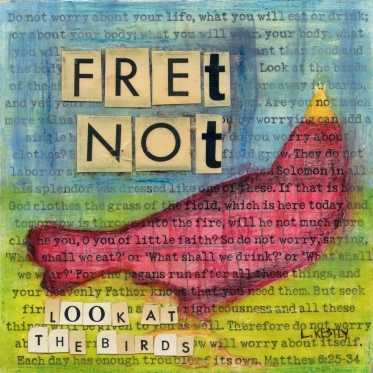 """Fret Not"" by Laura Kestly"