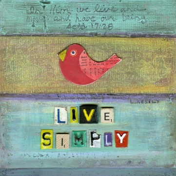"""Live Simply"" by Laura Kestly"