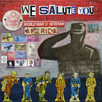 """""""We Salute You"""" by Laura Kestly"""