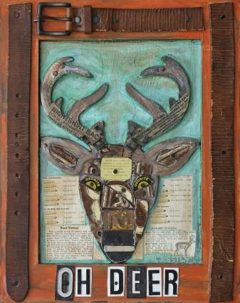 """""""Oh Deer"""" by Laura Kestly"""