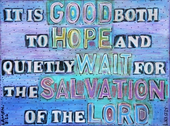 """""""Salvation of the Lord"""" by Laura Kestly"""