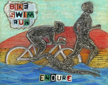 """Triatholon: Endure"" by Laura Kestly"