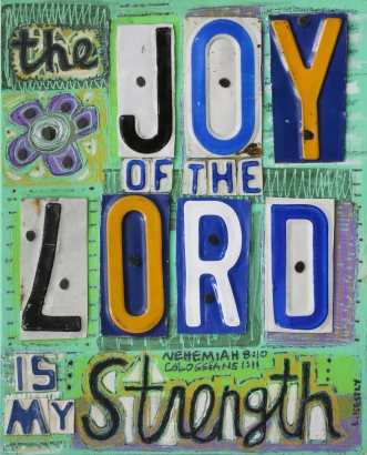 """Joy of the Lord"" by Laura Kestly"